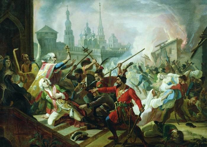 Пугачевский бунт./ Фото: svistanet.com