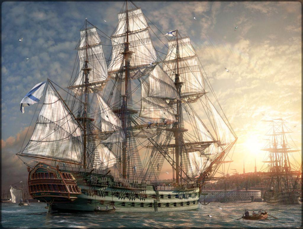 История линейного корабля «Азов»